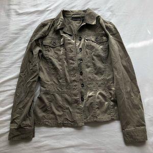 Faded Army Green Khaki Jacket